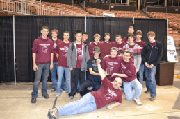 The Robotomies 2013 Team Photo with Award 1a