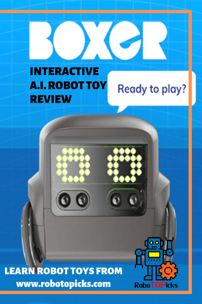 Spin Master - Boxer Interactive A.I. Robot Toy Review