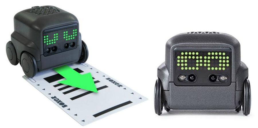 scan card_boxer robot ai toy, robotopicks