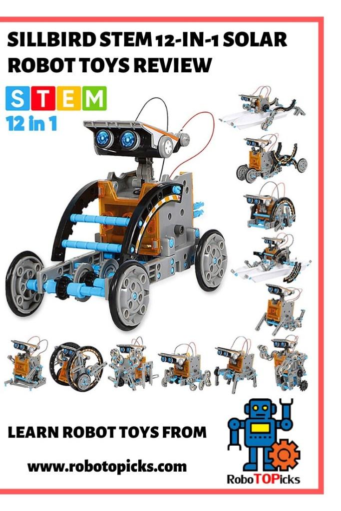 Sillbird - STEM 12-in-1 Education Solar Robot Toy Review ...