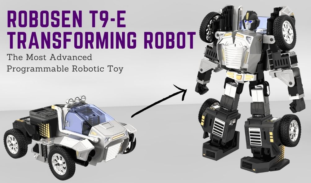Robosen T9-E Advanced Programmable Auto Transforming Robot