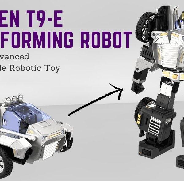 Robosen T9-E Transforming Robot – The Most Advanced Programmable Robotic Toy Introduction