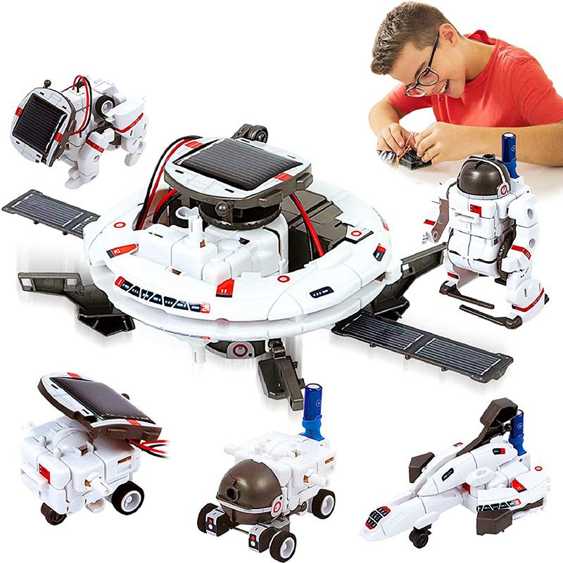 HOMOFY 6-in-1 Solar Robot Kit