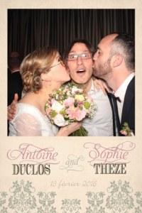 borne photo pour votre mariage à Rennes