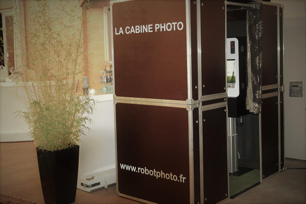borne selfie rennes - cabine