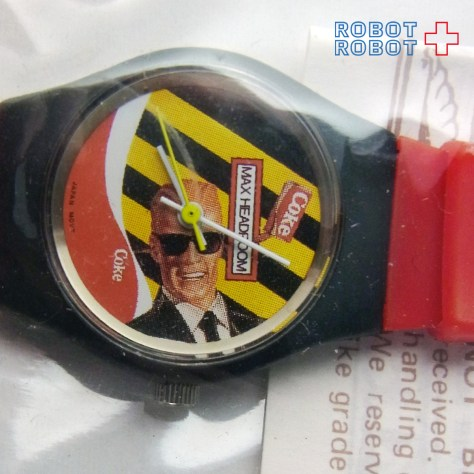 MAX HEADROOM WATCH A