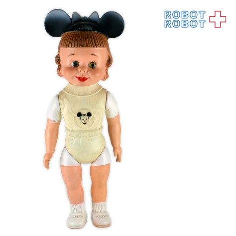 Mickey Mouse Club Mouseketeer Rubber DollA