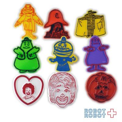 Mcdonald's Plastic Ring Happy Meal  GROUP