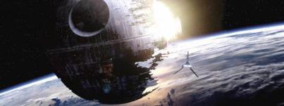 Der Todesstern aus Star Wars