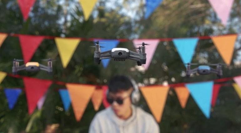 Prezentarea dronei Tello