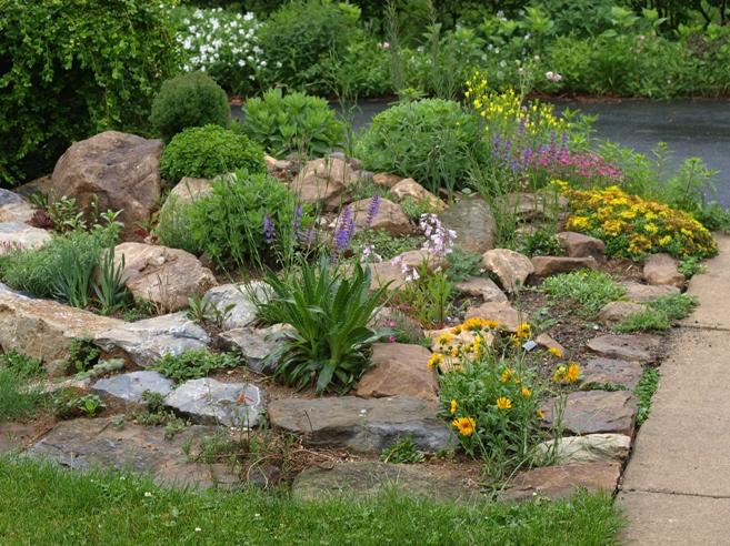The rock garden on Small Garden Ideas With Rocks id=83908
