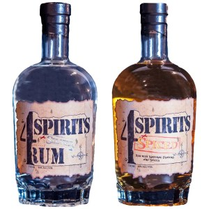 4 Spirits Rum - Creating craft white rum and spiced rum in Oregon, Dawson Officer's 4 Spirits Distillery seeks to honor fallen war veterans.