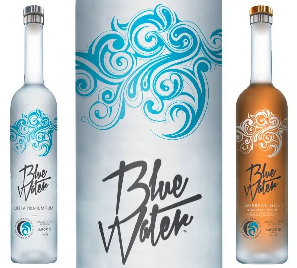 Blue Water Ultra Premium - Made in the Dominican Republic, two new spirits from Blue Water Rum include premium white and gold spiced expressions.