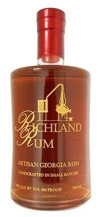 Richland Single Estate - Attention to every detail of production -- from growing the cane, gentle pot distillation, and aging in new white oak barrels -- gives hand-made Richland Single Estate Old Georgia Rum a bold flavor profile reminiscent of fine Bourbon.