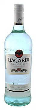 Types of Rum - Bacardi Superior white rum