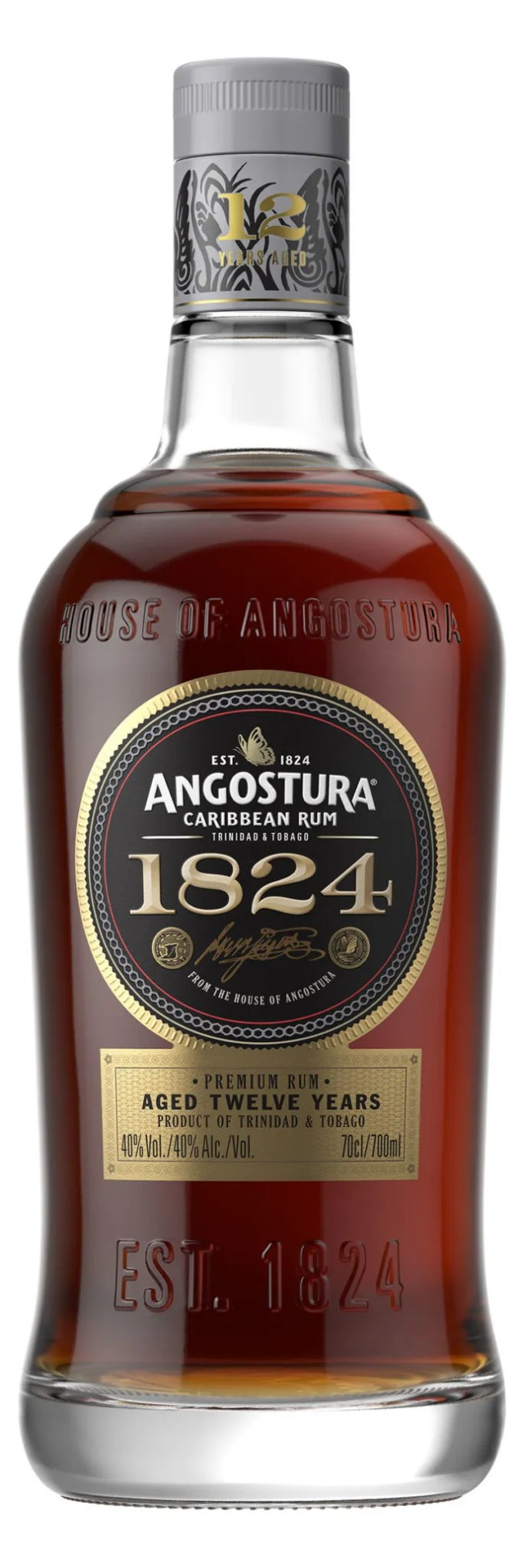 Angostura 1824 aged rum from Trinidad