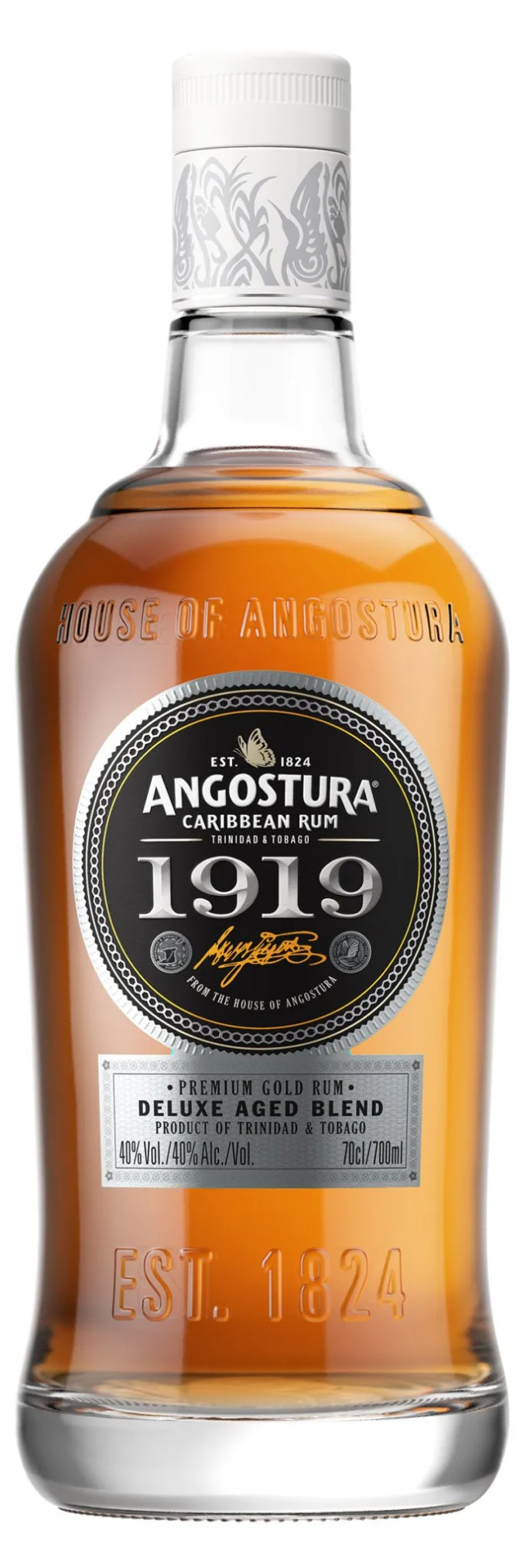 Angostura 1919 aged rum from Trinidad