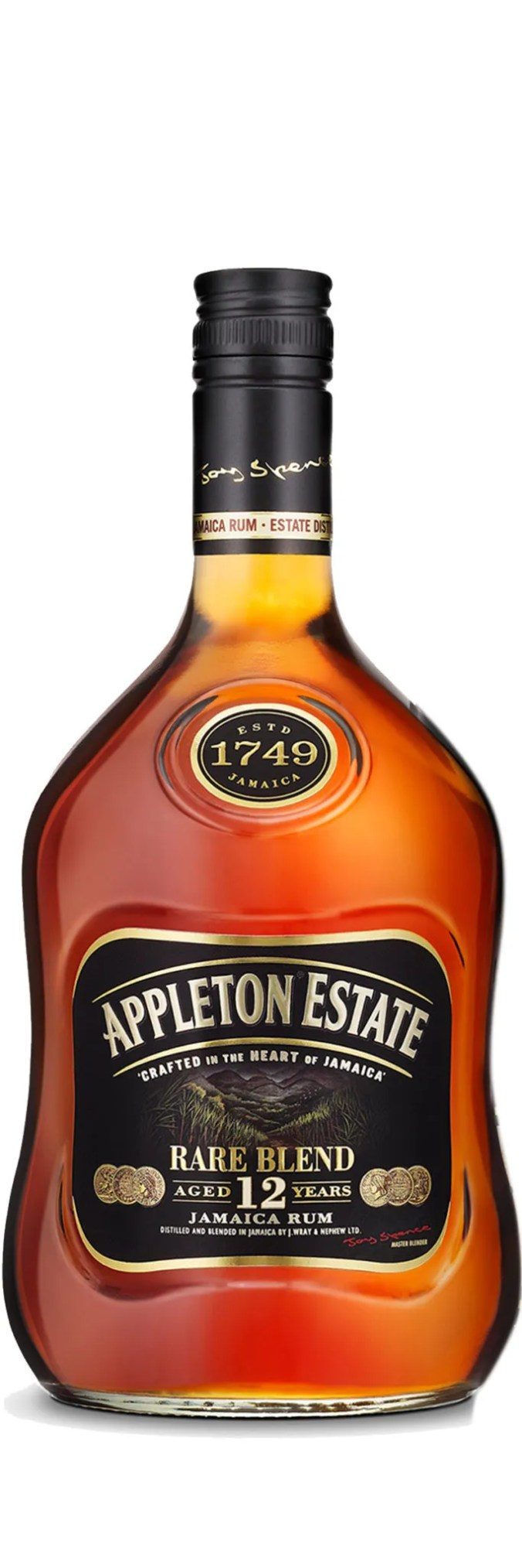 Appleton Estate Rare Blend 12 year old aged rum (formerly Extra) from Jamaica
