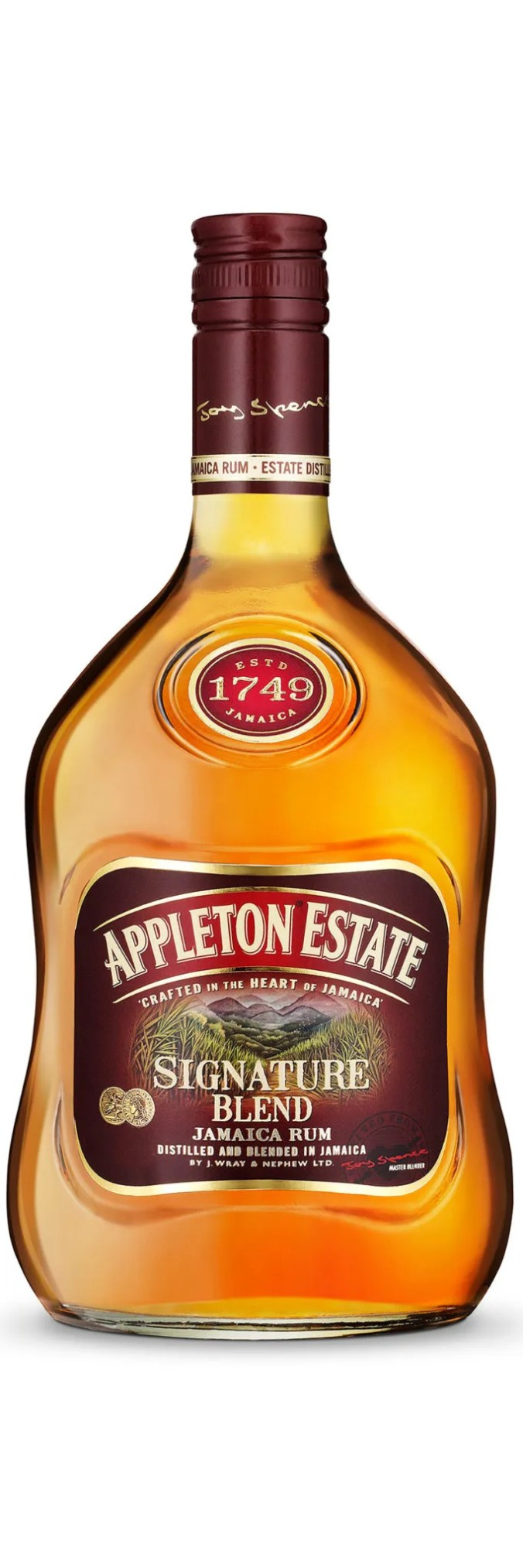 Appleton Estate Reserve Blend is a masterful expression that combines 22 different marques of aged rum, including both pot still and column still variation aged in various barrels for eight to twelve years.