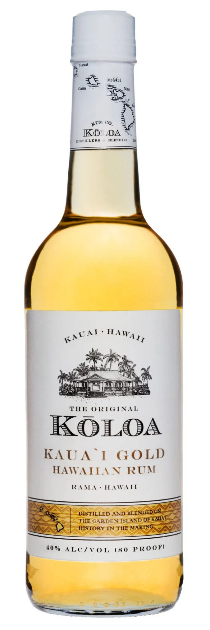 Koloa Gold rum from Hawaii