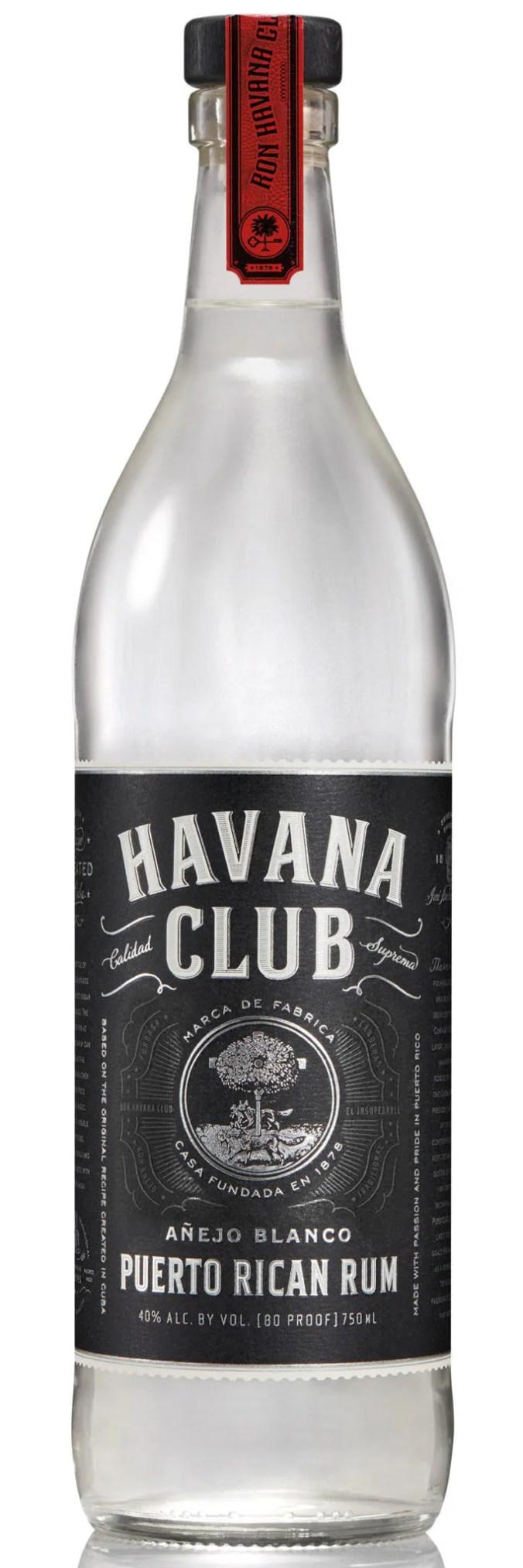 Bacardi produces Havana Club Blanco in Puerto Rico