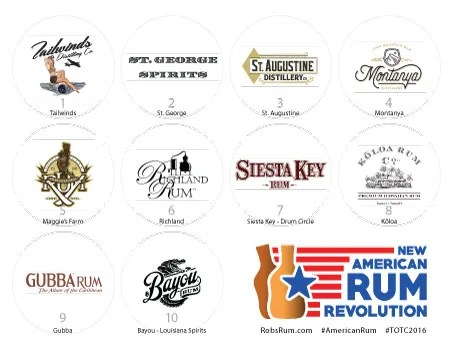 The New American Rum Revolution seminar features notable expressions from American producers.