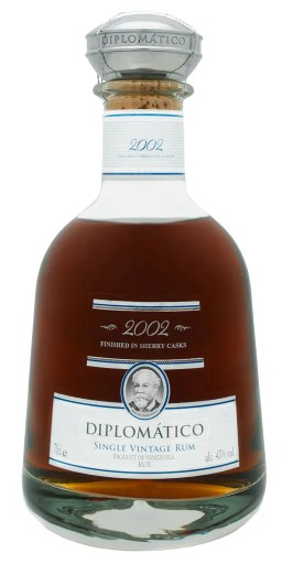 Diplomatico 2002 Single Vintage limited edition aged rum from Venezuela