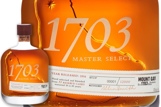 Mount Gay 1703 Master Select luxury aged rum