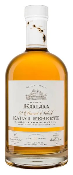 Kauai Reserve Three-Year Aged Hawaiian Rum