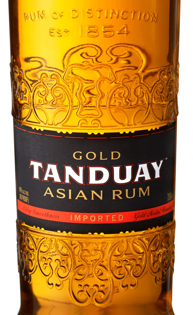Award-Winning Tanduay Gold Asian Rum from The Philippines