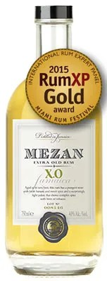 Mezan XO Jamaica aged rum blend delivers authentic profile
