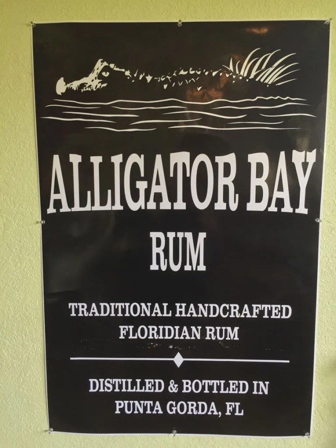 Alligator Bay sign