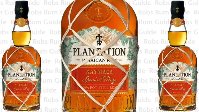 Plantation Xaymaca Special Dry pot still blended rum from Jamaica