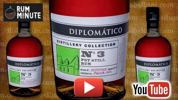 Diplomático Distillery Collection Number 3 Pot Still Rum