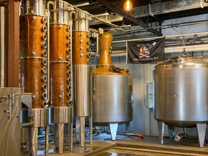 Copper Pot Still at Tampa Bay Rum Company