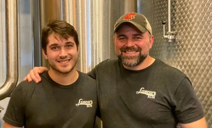 Brad and Sam - Tampa Bay Rum Company
