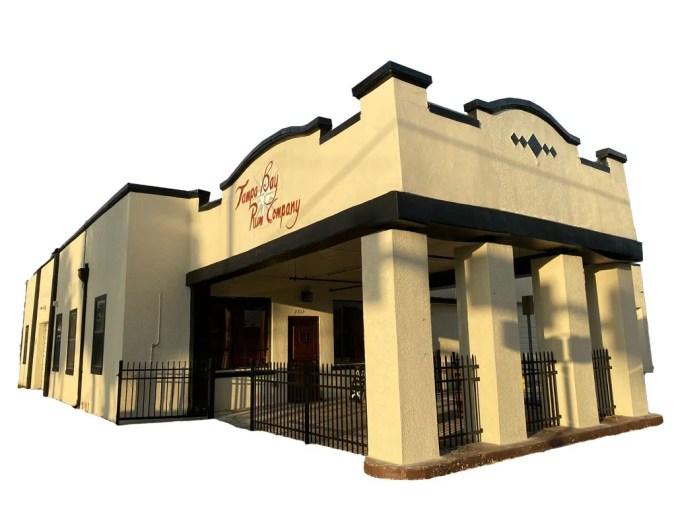 Tampa Bay Rum Company building
