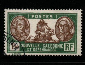 French Cols-New Caledonia SG 164 fine used