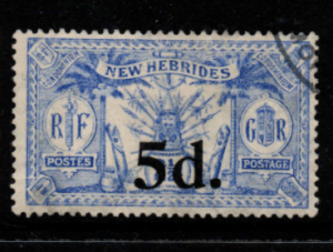 New Hebrides SG 42 fine used