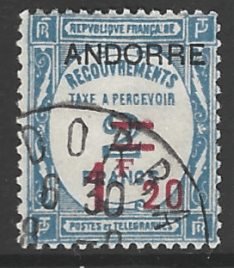 Andorra French Colonies SG FD36