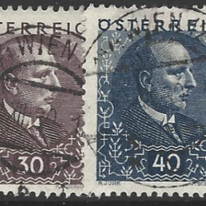 Austria SG 660-665, fine used stamps
