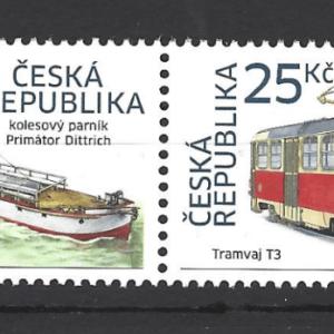 Czech Republic SG 815a, pair