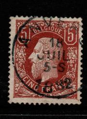 Belgium SG 57a, Fine Used stamp