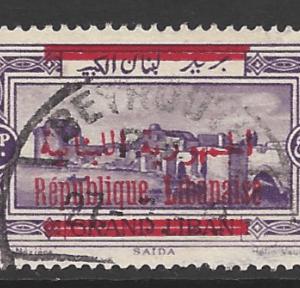 Lebanon SG 132b