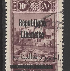 Lebanon SG 134