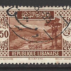 Lebanon SG 166a