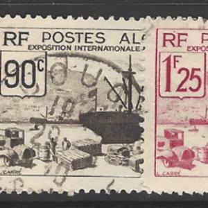 Algeria SG 159-163