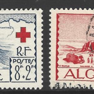 Algeria SG 320-321