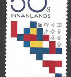 New Issue Iceland Stamp