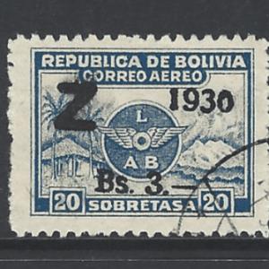 Bolivia SG 241-243